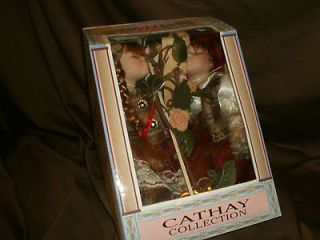 New In Box! 16 LTD Cathay Collection Porcelain Robert & Judy Dolls