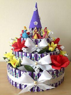 Birthday Celebration Gift Chocolate Candy Disney Princess Castle