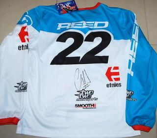 CHAD REED Signed 2013 TwoTwo Smooth Youth JERSEY + Pants