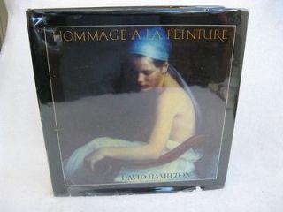 David Hamilton HOMMAGE A LA PEINTURE (ill.) Arpel Graphics 1984 HC/DJ