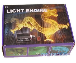 Multi Colored Fibre Optic Ceiling LED Light Engine W/remote control