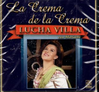 LUCHA VILLA LA CON MARIACHI CREMA DE LA CREMA CD