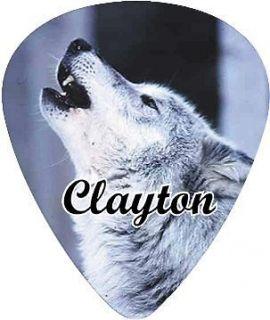 Clayton Wolf Guitar Pick Standard .50MM 1 Dozen
