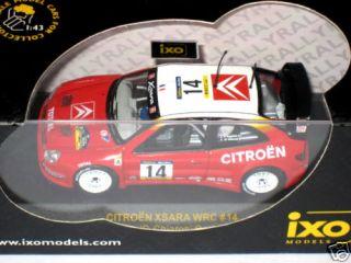 IXO Citroen Xsara WRC #14 Rally Catalunya Diecast 1/43