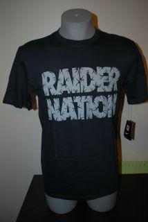 New LA Oakland Raiders Raider Nation Nike NFL Football Tee T shirt