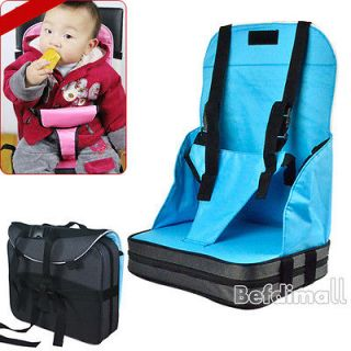 Toddlers Dining Chair Booster Fold up Seat Cushion Bag Hot Baby