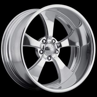 NEW BILLET / FORGED,, 17X7 SW5 / STREETER SHOWWHEELS FORD DODGE CHEVY