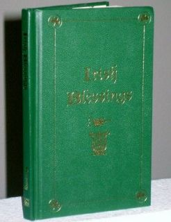 NOS 1996 IRISH BLESSINGS Illustrated Book St. Patricks Day Poems