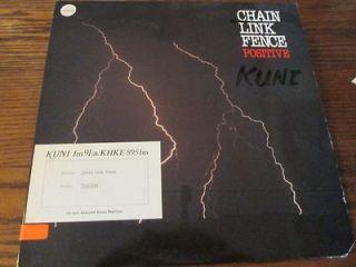 Positive By Chain Link Fence Album Record LP Descriptive Notes