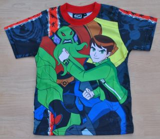 Ben 10 Ten Ultimate Alian Boys Girls Kids T Shirt Sz 4 Age 3 4 #07