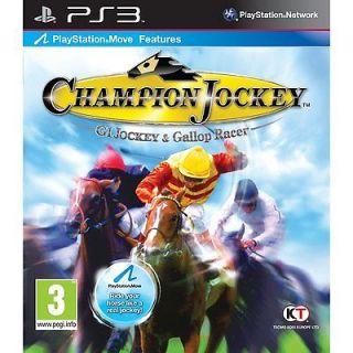 Champion Jockey (Horse Riding) (PS3) Brand New & Sealed Games