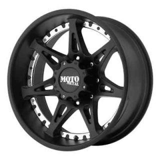 6x5.5 Black wheels rims Moto 961 Chevy Suburban Gmc Tahoe 1500 6 lug