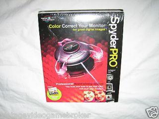 Pantone ColorVision SpyderPro w/ OptiCAL Spyder Pro BRAND NEW SEALED