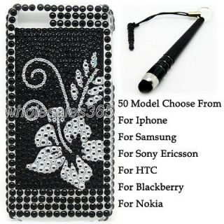 Bling Crystal Diamond Rhinestone Case Cover For Samsung Cell Phone