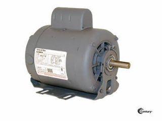 C634 1/2 HP, 1725 RPM AO SMITH / CENTURY ELECTRIC MOTOR