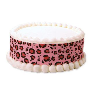 pink leopard print party supplies in Holidays, Cards & Party Supply