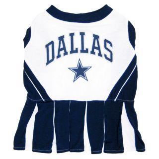 Dallas Cowboys NFL Football Licensed Dog Pet CheerLeading Dress