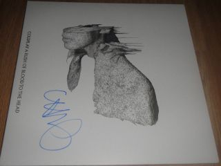 Chris Martin Coldplay Signed Autographed Album A Rush Of Blood To The