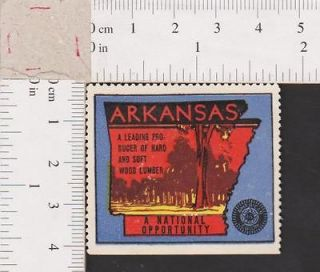 Newly listed Poster Stamp   US Arkansas Hard & Soft Wood Lumber