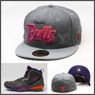 New Era Chicago Bulls Custom Fitted Hat Designed For Air Penny 5 V