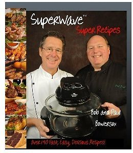 Brand New The Sharper Image Super Wave Oven Super