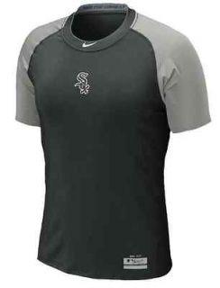 Nike MLB Chicago White Sox Pro Combat Dri Fit shirt XL baseball black