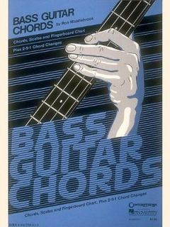 Bass Guitar Chord Chart Ron Middlebrook