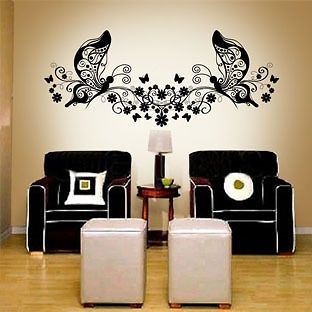 wallpaper graffiti wall glass sticker decal butterfly3 from china time
