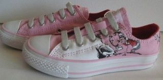 NEW Converse Dr. Seuss Cindy Lou Who Pink Slip On Sneakers Girls