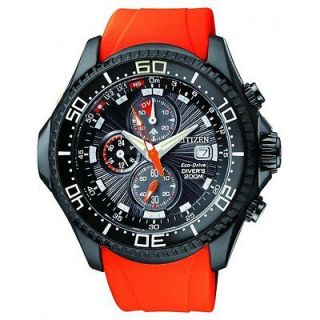 Citizen Gents Eco Drive Promaster Chronograph WR200 BJ2119 06E RRP £