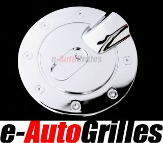 04 09 Chevy Colorado+GMC Canyon Chrome Fuel Gas Cap Door Cover Trims