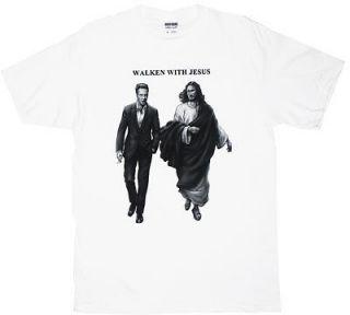 Walken With Jesus   Christopher Walken T shirt