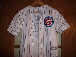 Chicago Cubs Derek Lee Baseball Jersey Majestic #25 Youth Small Free