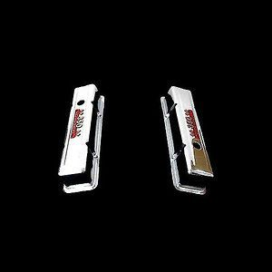 Chrome Tall Valve Covers Fits Small Block Chevy 350 Engines 350 HP