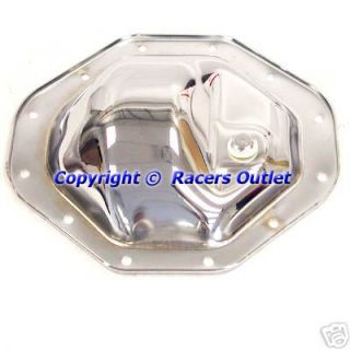 Chrome Differential Rear End Cover Chrysler Dodge 9.25 Ring Gear 12