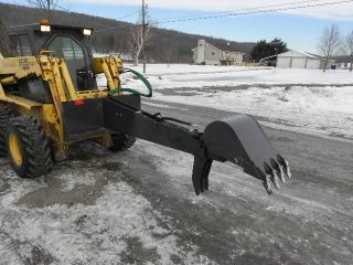 CID Xtreme Skid Steer Backhoe Trencher For Bobcat NEW!!
