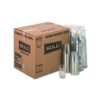 Solo TP12 Clear Plastic Drink Cup, 12/14 Ounce   SCCTP12