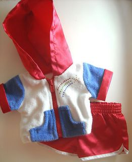 18 Doll Clothes American Girl Julies Retired Shorts & Jacket Summer