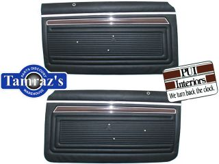 70 Nova SS Custom Front & Rear Door Panels PreAssembled (Fits Nova)