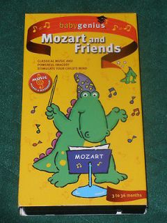VHS Video Collection~Mozart and Friends~Classical Music Learning