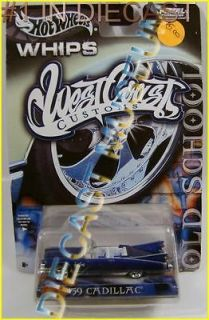 59 CADILLAC EL DORADO OLD SCHOOL WHIPS WEST COAST CUSTOMS HOT WHEELS