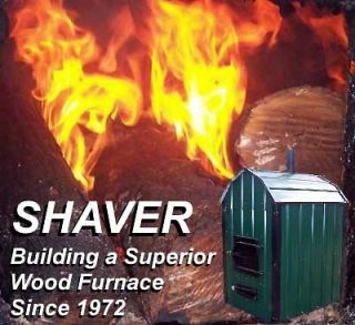Best Outdoor Wood Burning Furnace Stove  Outside Boiler 40 yr Only $