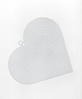 Clear Plastic Canvas Heart Shape Sheets Hexagon Star