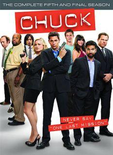 Chuck Season 5 DVD Box Set Used Mint