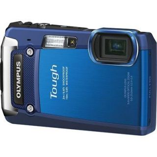 OLYMPUS 12 MP CMOS WATERPROOF UNDERWATER DIGITAL CAMERA RECORD FULL HD