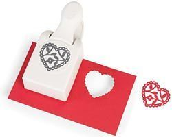 ENCHANTED HEART   Large Double paper punch by Martha Stewart