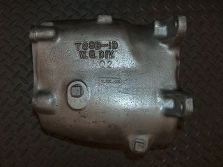 1962 BORG WARNER 3 SPEED TRANSMISSION MAIN CASE T89 1D and Q2 CAST