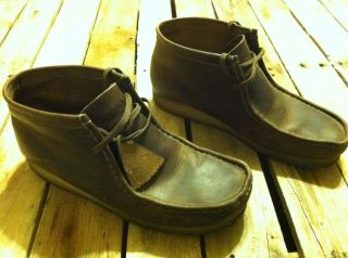 Clarks. Wallabee. Size 10m. Comfortable And In Good Shape.