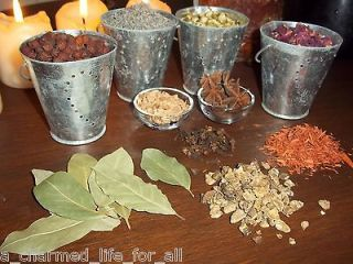 MAGICAL HERBS ~ Witches Set of 30 HERBS ~ ALTAR/RITUALS/ INCENSE/PAGAN