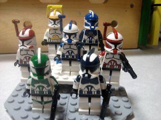 Lego Star Wars Jetpack Trooper Cody Gree, Ponds, Denal